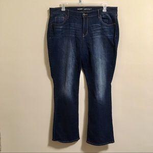 Old Navy Curvy Dark Jeans 18